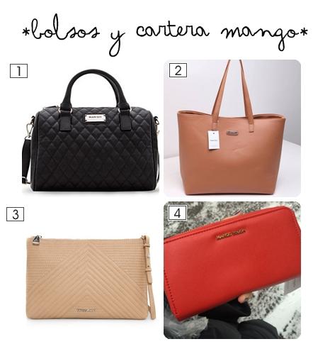 bolsos y cartera mng